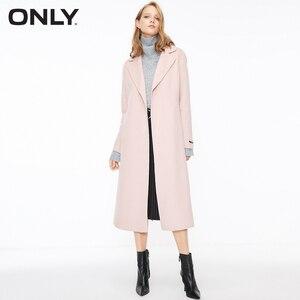 Image 2 - SOLO delle donne di autunno nuovo di lana doppio fronte di lana coat