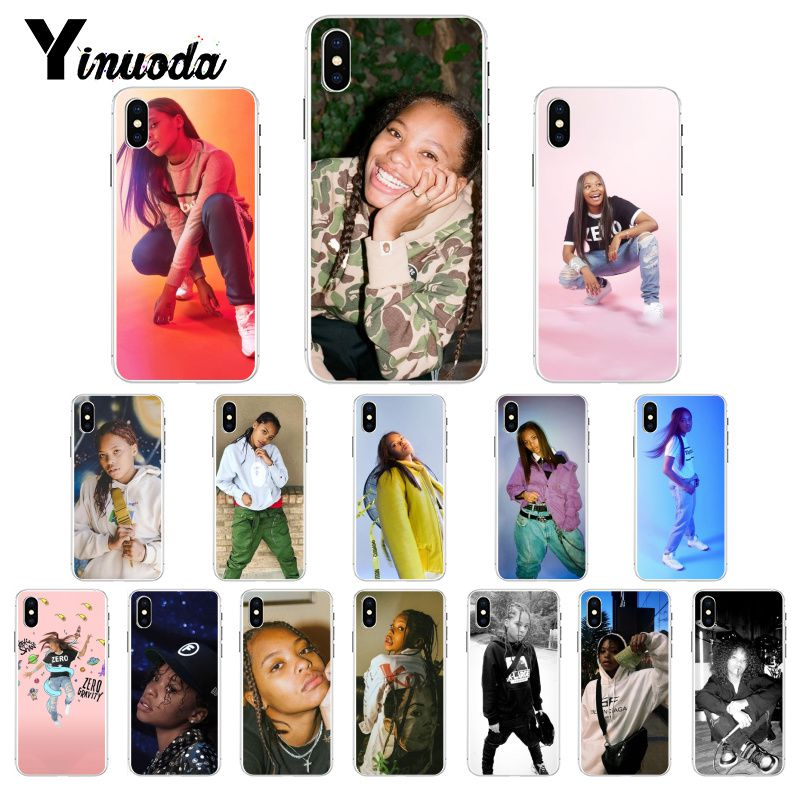 Yinuoda Kodie Shane Rapper DIY Luxury Case for iPhone 8 7 6 6S X XS MAX 5 5S SE XR 11 Pro Max image