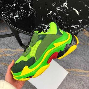 Image 2 - Chaussures de course pour hommes et femmes, chaussures de sport respirantes, athlétiques de marque à la mode, unisexes, couleurs mélangées, collection espadrilles décontractées