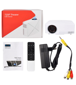 Image 5 - Thundeal td80 mini projetor led 1280x720 portátil hd hdmi vídeo c80 3d lcd c80 up android wifi c80up beamer casa cinema