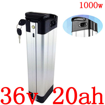1000W 36V 20AH Electric Bike Battery 36v 17ah 18ah 20ah 21ah 25ah 27ah 28ah Lithium Battery use samsun/panasonic/LG/sanyo cell image