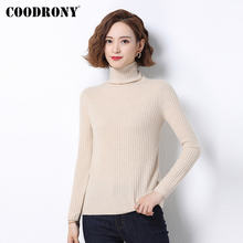 Coodrony бренд осень зима базовый элегантный тонкий пуловер