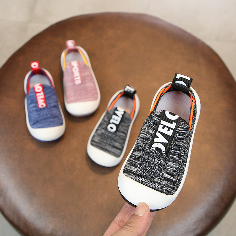2019 Spring Infant Toddler Shoes Baby Girls Boys Casual Shoes Soft Bottom Non-slip High Quality Kids Children Mesh Shoes