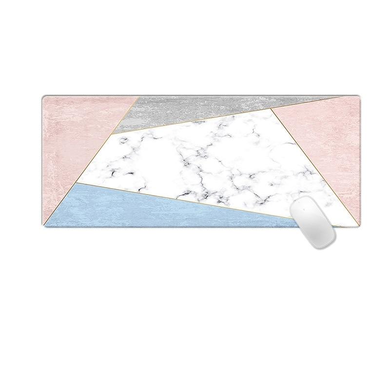 Ins модный мраморный коврик для мыши Большой размер Настольный