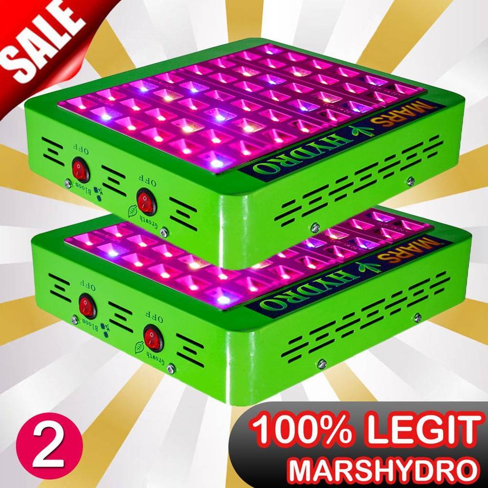 2 uds reflector de luz LED IR de espectro completo 300W interruptor de crecimiento/floración diseño plantas hidropónicas de interior