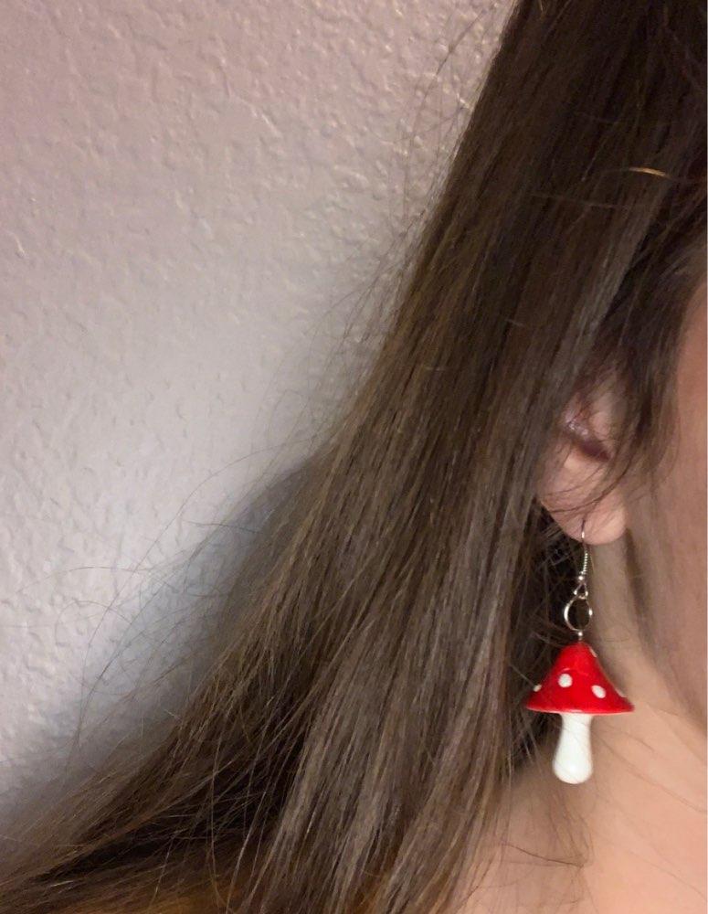 Mushroom Earrings 5