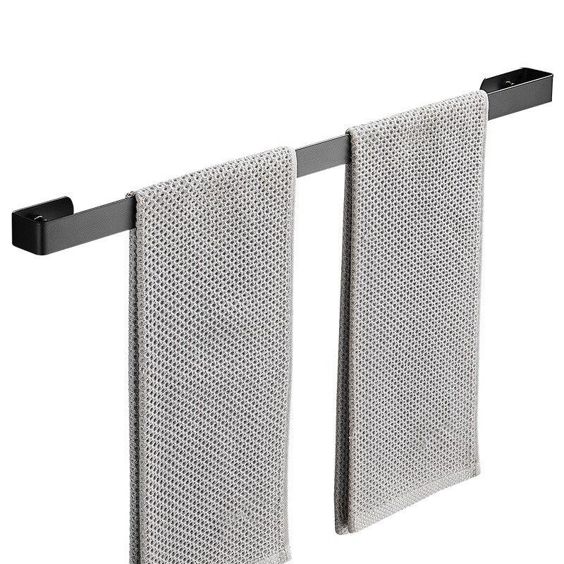 1шт нержавеющая сталь ванная настенный полотенце бар кухня туалет тапочки хранение стеллаж