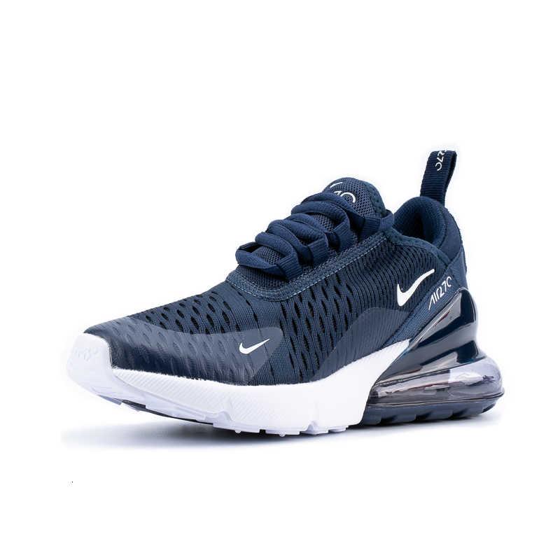 Nike Air Max 270 (Gs) originele Kinderen Schoenen Ademend Nieuwe Aankomst Loopschoenen Outdoor Comfortabele Sport Sneakers #943345