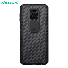 Nillkin Case for Xiaomi Redmi Note 9s 9 Pro/9 Pro Max Case Cover 6.67 CamShield Slide Camera Lens Protection Phone Back Shell