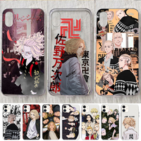 Japanese Anime Tokyo Revengers Phone Case for IPhone 12 11 Pro X XR XS Max Mini SE 2020 7 8 6 6S Plus 5 5S SE Cute Cartoon Cover