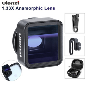 Image 1 - Ulanzi 1.33X Anamorphic Phone Lens for iPhone 11 Pro Max Huawei P20 Pro Mate Pixel Movie Shooting Filmmaking Phone Camera Lens