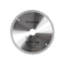 цена на 80 Teeth TCT Circular Saw Blade Wheel Discs TCT Alloy Woodworking Multifunctional Saw Blade For Wood Metal Cutting Drop Shipping