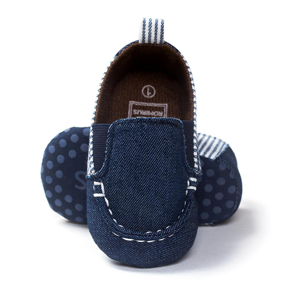 2020 Infant Babies Boy Girl Shoes Sole Soft Canvas Solid Footwear For Newborns Toddler Crib Moccasins