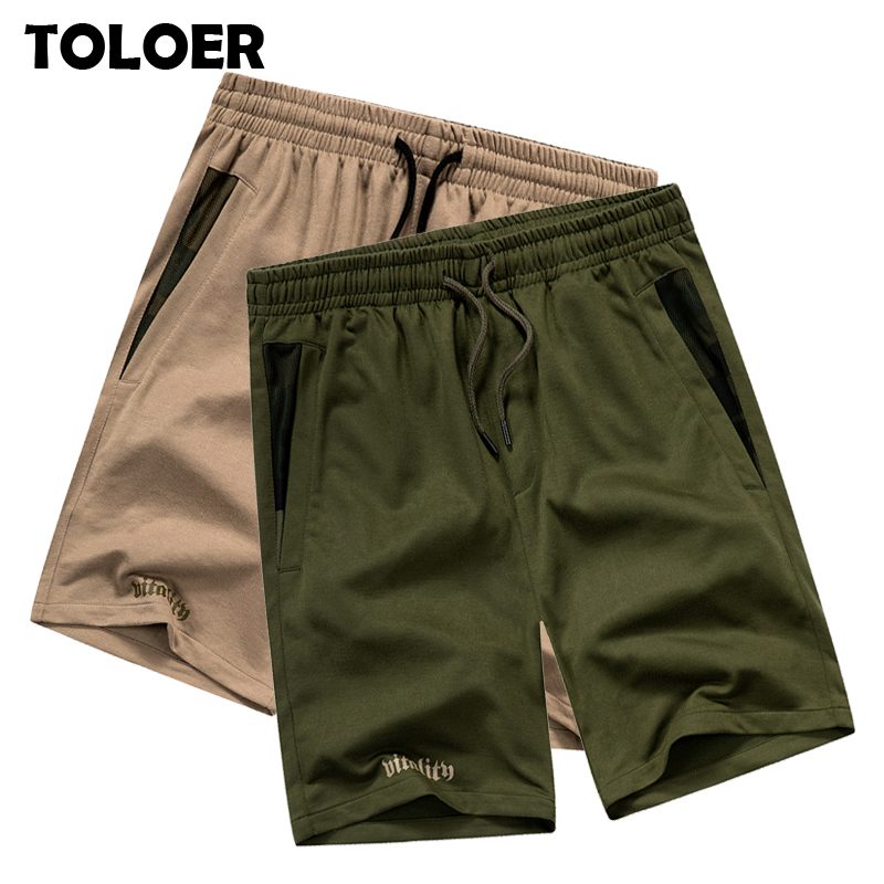 Solid Men''s Shorts 2020 Casual  Mens Beach Shorts Summer Outwear Jogger Shorts Men Fitness New Short Pants Male Cotton Clothing