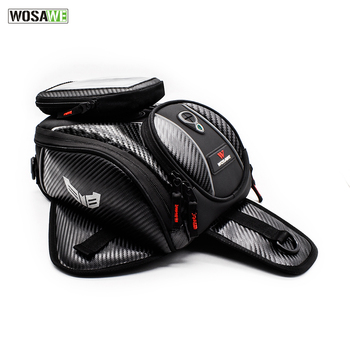 Magnetic Motorcycle Tank Bag Waterproof Motorbike Saddle Bag Single Shoulder Bag Backpack Luggage Phone Bag Moto Tank Bag best riding waterproof motorcycle tank bag oil bag motorbike ktm bag alforjas moto bolsa sobredeposito para moto mochila sacoche