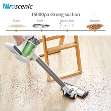 Proscenic P9 Cordless Vacuum Cleaner 17000pa Powerful Suction Led Light Stick Handheld Portable Vacuum 2 in 1