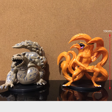 2 unids/set Naruto Anime figura Kurama Kyuubi que pase Shippden juguetes Rikudo Sennin Uzumaki Naruto figura de acción de PVC muñeca modelo Figma