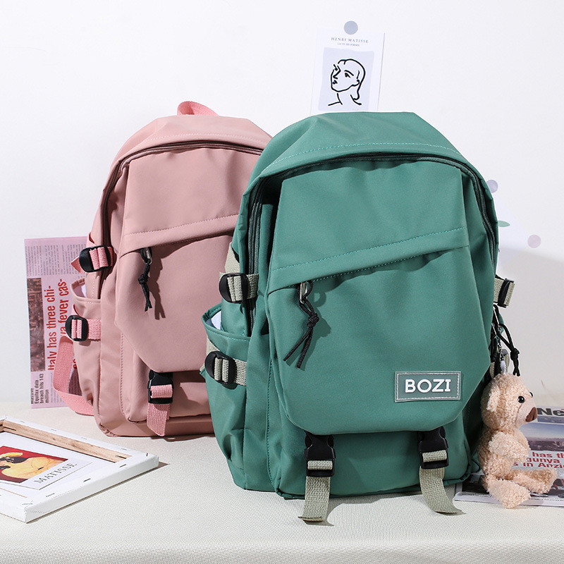Waterproof Backpack Women Daily Backpack New Style Pretty Nylon Bag Fashion Female School Bagpack for Teenage Outdoor Travel Bag