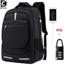 """DC.meilun Multi functional Travel Backpack Men Teenage 17"""" Laptop School Bag Waterproof Male Mochilas Large Capacity Backpacks"""