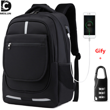 """DC.meilun çok fonksiyonlu seyahat sırt çantası erkekler genç 17 """"dizüstü bilgisayar okul çantası su geçirmez erkek Mochilas büyük kapasiteli sırt çantaları"""