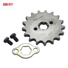 Front-Engine-Sprocket Scooter Bike Go-Kart-Moped Motorcycle 428 YCF Quad 20mm 17 Tooth