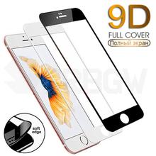 9D-Hartowane szkiełko szybka na ekran z zaokrąglonymi rogami pełnokryjące do iPhone 7 8 Plus 6 6s tanie tanio SERBGW Przedni Film Apple iphone Iphone 6 Iphone 6 plus IPhone 6 s Iphone 6 s plus IPHONE 7 PLUS IPHONE 8 PLUS Anti-Blue-ray
