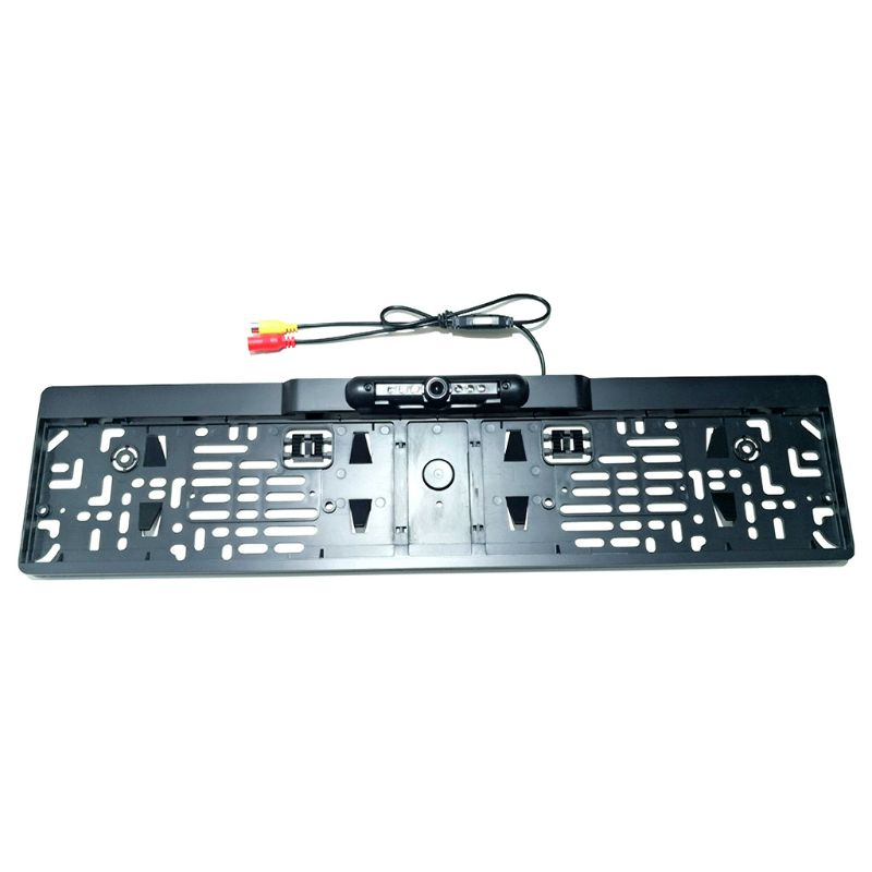 2020 New Wireless Night Vision Rear View Camera EU License Plate Frame Car Reverse Camera