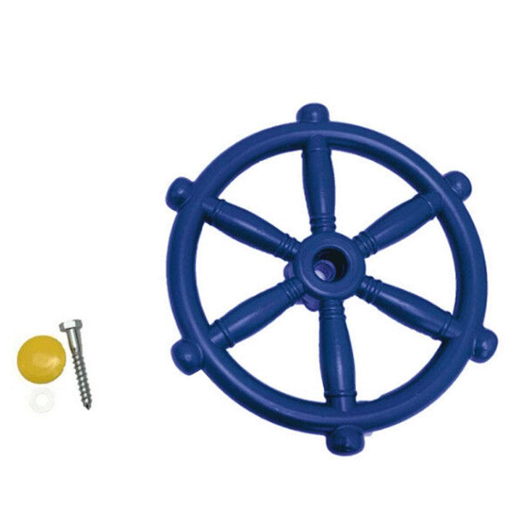Children Toy Boat Steering Wheel Kindergarten Playground Accessories Kids Play House Swing Plastic Small Steering Wheel