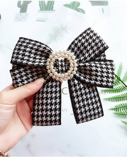College style Brooch Plaid Butterfly Women's Bow Tie Female Girl Student Hotel Bank staff business Neck tie Shirt Accessories(China)