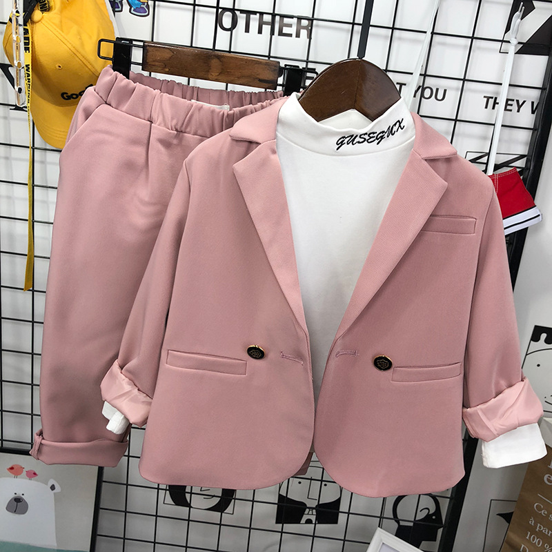 Kid Boys Wedding Suit Baby Boy Blazer 2020 Spring New Kids Formal Suits Toddler Boys Gentleman Sets for Party Clothes 2-8 Years