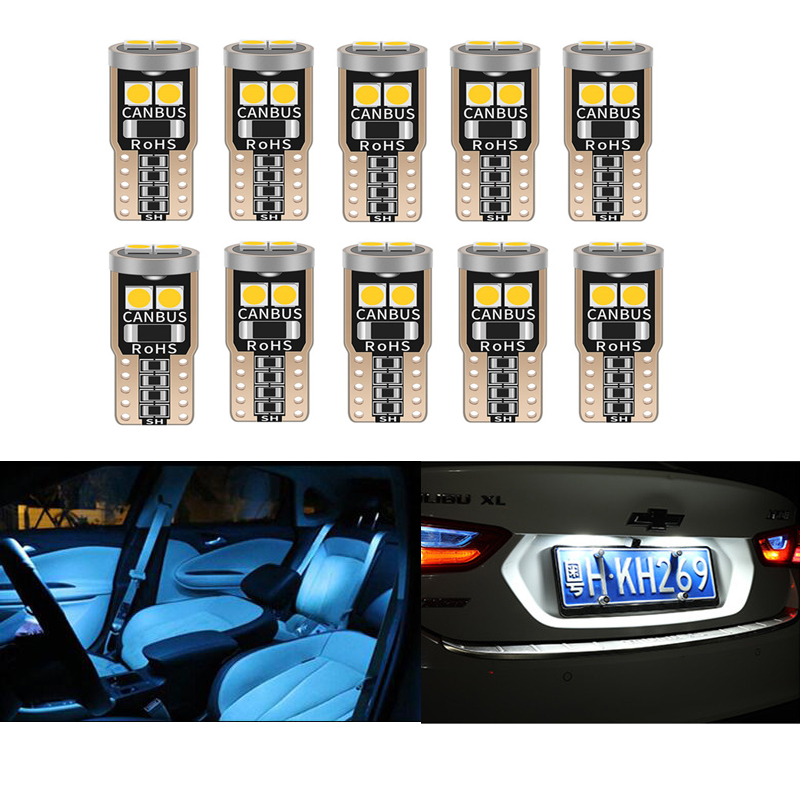 T10 W5W <font><b>LED</b></font> CANBUS Car Parking Clearance <font><b>Light</b></font> For <font><b>Mazda</b></font> 2 3 <font><b>6</b></font> CX-5 CX5 CX-7 CX-9 Axela Atenza MX5 2014 2015 17 Interior <font><b>Bulbs</b></font> image