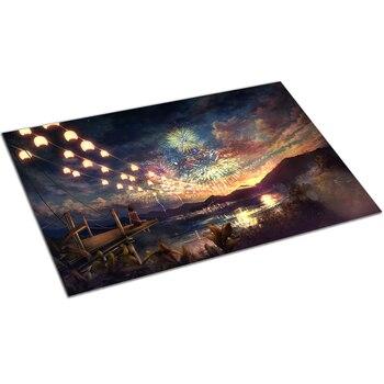 Casse-tête 1000 Pieces paysage de nuit de feux d'artifice 2