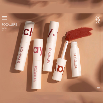 Matte Lip Gloss Lipclay Lipcream Velvet Waterproof Longlasting Dual-use lip and cheek Professional Makeup Cosmetics STLM1 image