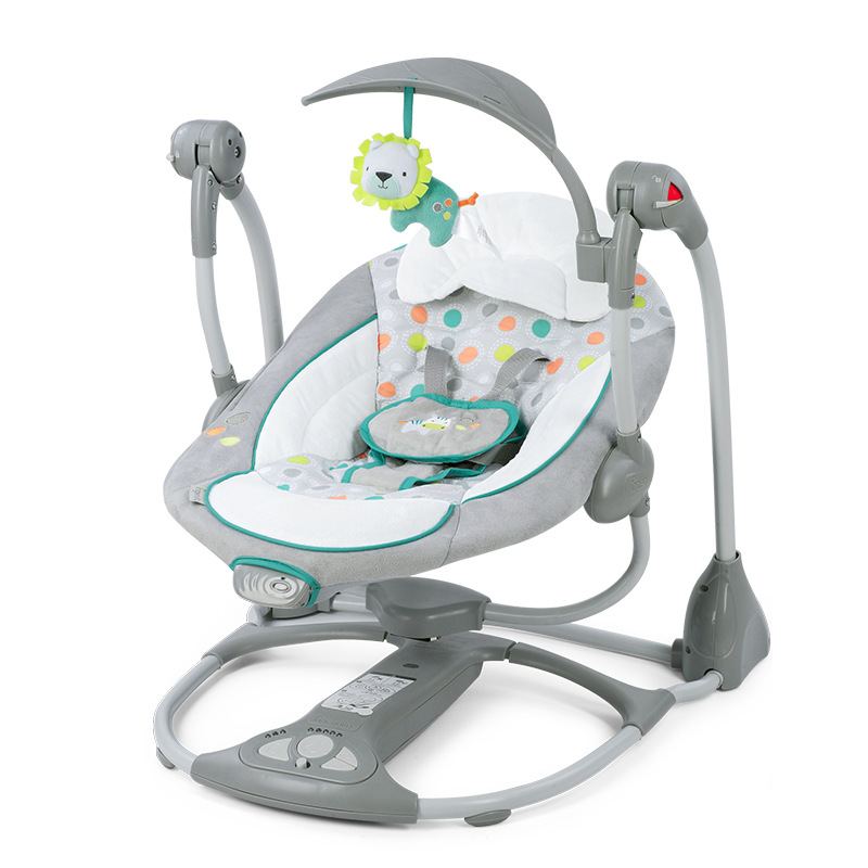 Newborn Gift Multi function Music Electric Swing Chair Infant Baby Rocking Chair Comfort Cradle Folding Baby Home v3 VC