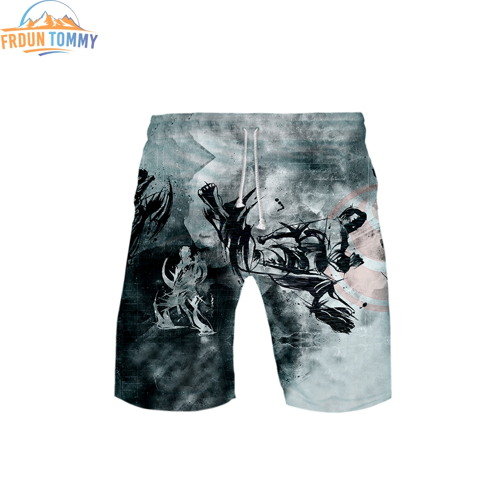 2019 New Style Of Kyokushin 3D Printing Male Summer 2019 Hot Sales Casual Cool And Breathable Ventilation Style Beach Shorts