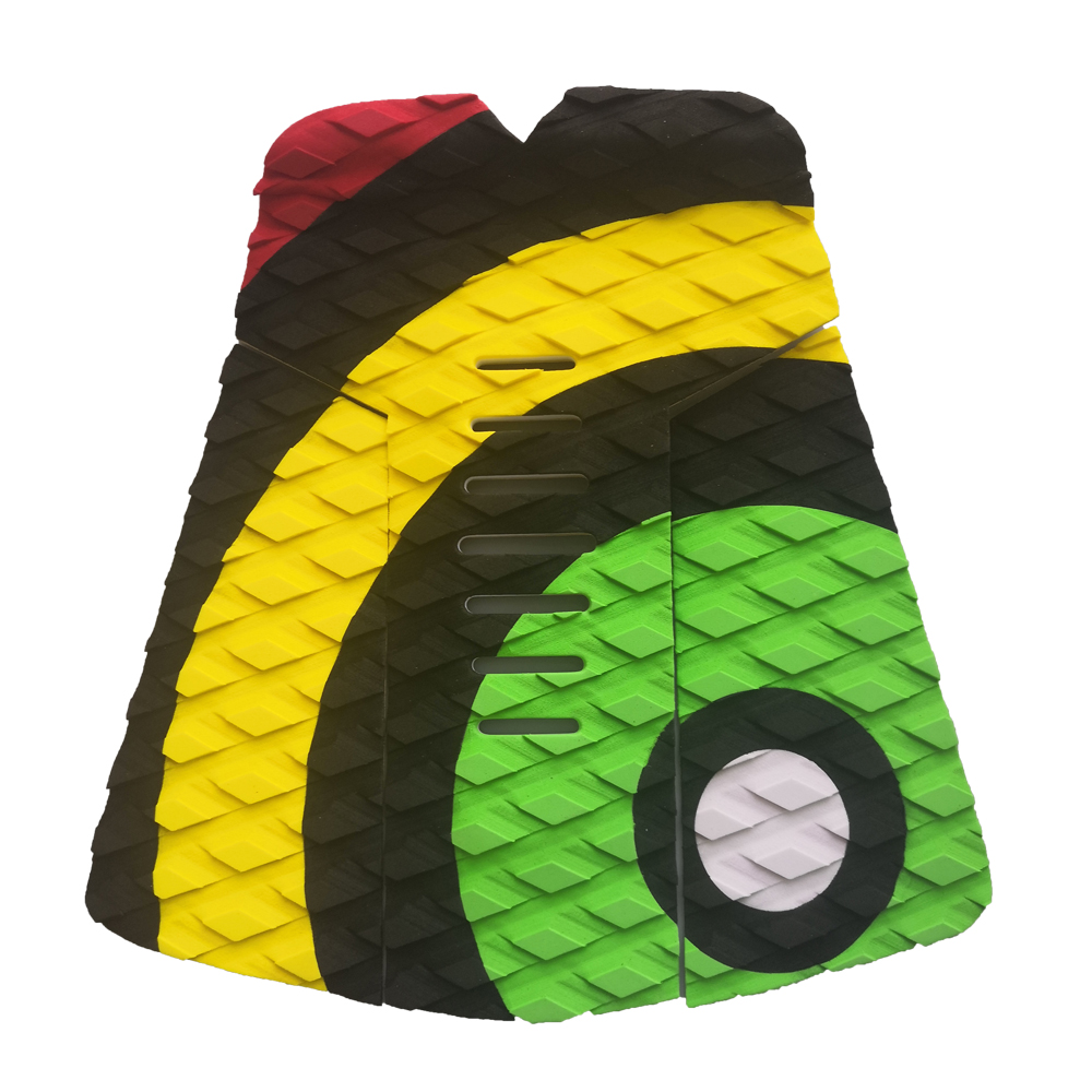 brand quality Surf surfboard fish tail pad EVA traction non-slip pad surfing accessories kite surfboard deck pad