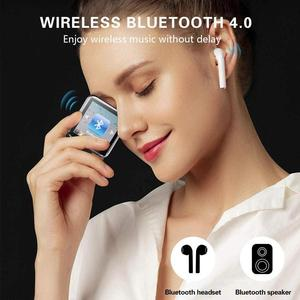 Image 4 - Mini Clip MP3 Player 1,5 In Touch Screen Bluetooth MP3 Player Tragbare Musik MP3 Player HiFi Audio Player mit FM radio Funktion