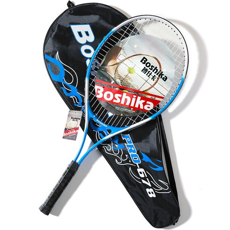 Tennis Racket Aluminum Tenis Racchetta Adults Teenager Training Set Padel Raquete De Tenis With Bag String Children Tennisracket