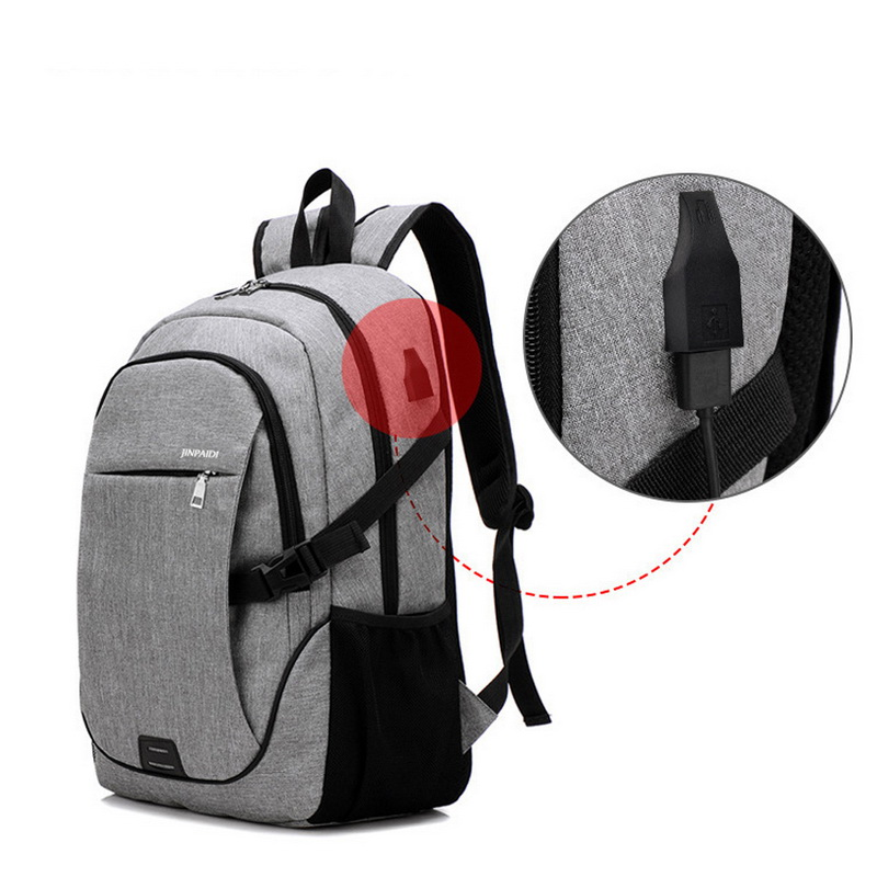 Male Backpack Anti Theft Brand 15.6 Inch Laptop Notebook Mochila For Men Waterproof Back Pack Bag School Backpack