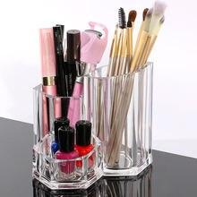 Модный Макияж Кисти держатель карандаш для бровей губные помады