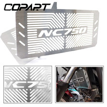 For Honda NC750 NC750S NC750X NC 750S/X 2014-2018 Motorcycle CNC Radiator Guard Grille Grill Cooler Cooling Cover Protector waase radiator protective cover grill guard grille protector for honda nc750 nc750s nc750x nc750n 2012 2013 2014 2015 2016 2017