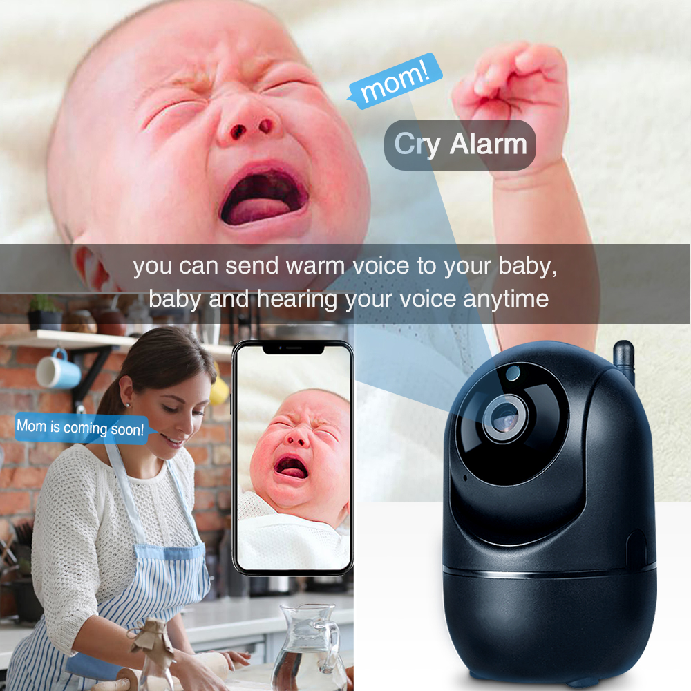 Wireless Baby Monitor With Night Vision Camera To check your baby from the monitor screen 3