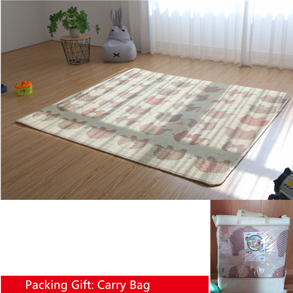 Carpet-Rug Crawling-Mat Playmat Baby Thickness Waterproof Kids Child New Picnic Two-Sides
