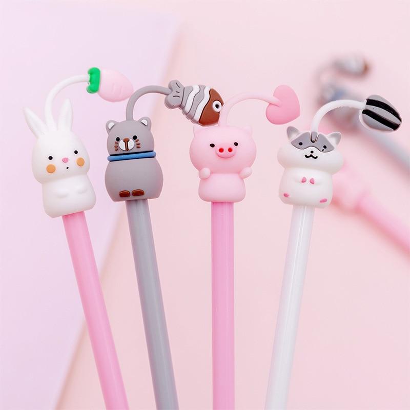 1 шт., гелевые ручки для домашних животных, 0,38 мм
