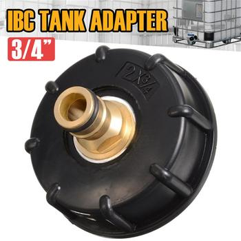 """IBC Hose Adapter  Water Tank Fitting S60*6 3/4"""" Standard Coarse Thread Durable Garden Tap  Ball Valve IBC Tote Container"""