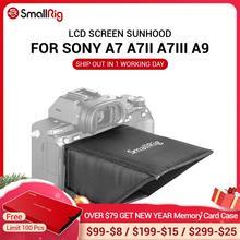 Petit écran LCD A7M3 pare soleil pour Sony A7 A7II A7III A9 série caméras pare soleil 2215