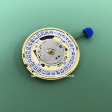 【送料無料】新スイス Eta の F06.111 腕時計クォーツムーブメント日付で 3 時計修理部品バッテリなし