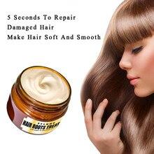 Лечебная маска, Кондиционер для волос, 60 мл, детоксицирующая маска для волос, усовершенствованная молекулярная маска для восстановления корней волос, эластичность, чудо-восстановление