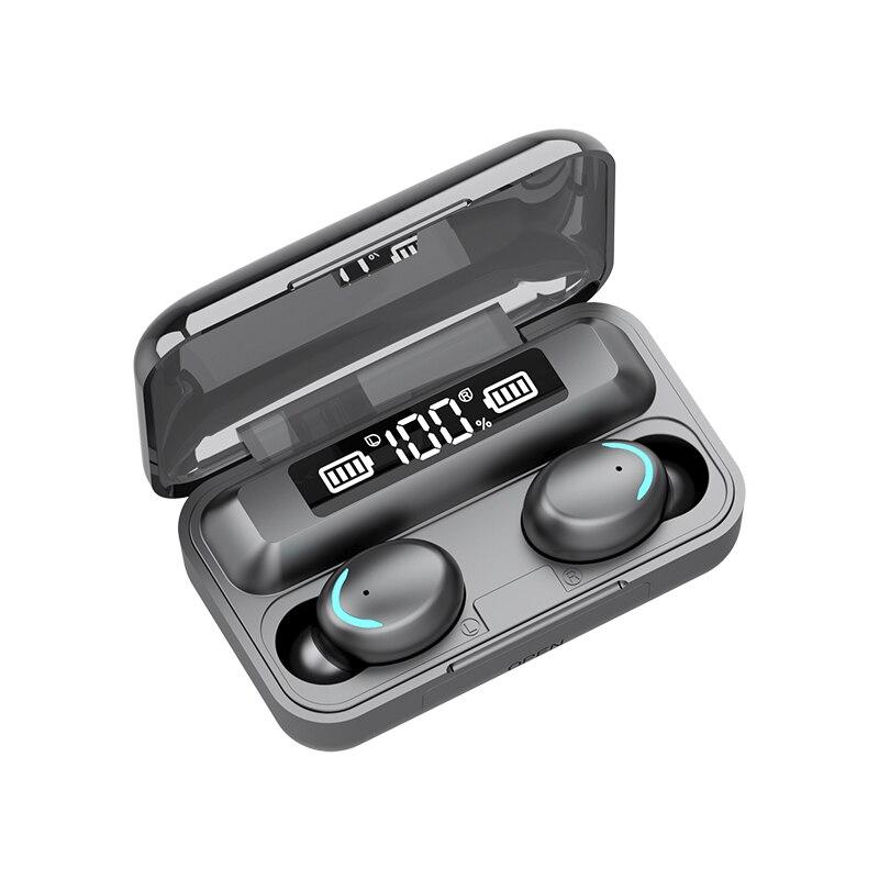 Новый F9 наушники-вкладыши TWS с наушников для наушников Bluetooth 5,1 HIFI мини-наушники для бега спортивные наушники Поддержка iOS/Android телефоны HD выз...