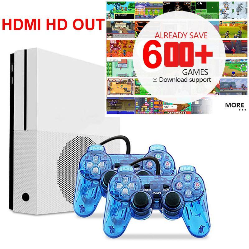 Classic Mini HDMI TV Video Game Console Retro Handheld Game Console Built-in 600 Classic Games For Nes Games With 2 Controllers